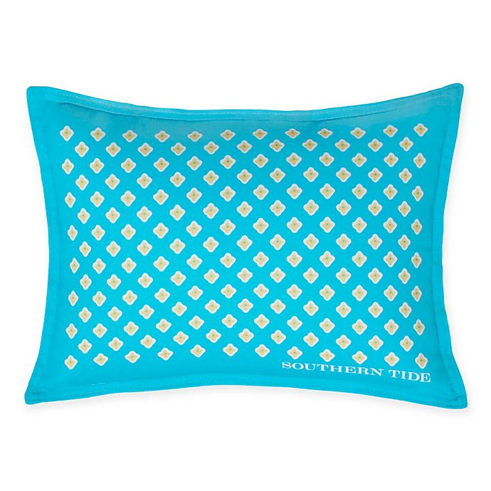 Alternate image 1 for Southern Tide® Skipjack Chino Foulard Oblong Throw Pillow