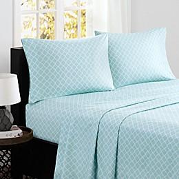 Madison Park® Fretwork Cotton Printed Sheet Set