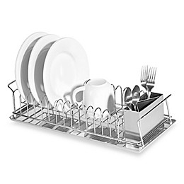 Oggi™ Compact 3-Piece Dish Rack and Cutlery Holder