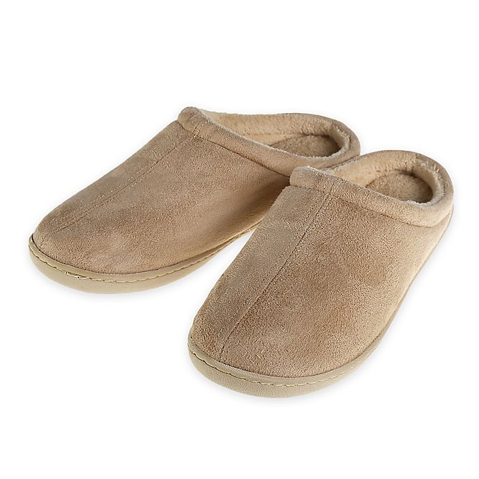 Alternate image 1 for Therapedic® Size XL Unisex Classic Outlast® Technology Slippers in Tan