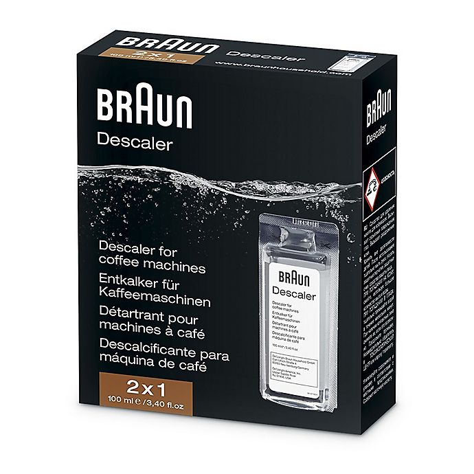 Alternate image 1 for Braun Descaling Solution for Coffee Machines and Water Kettles