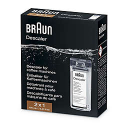 Braun Descaling Solution for Coffee Machines and Water Kettles
