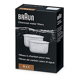 Braun Charcoal Water Filter for Braun BrewSense Coffee Makers