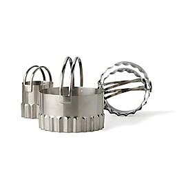 RSVP Endurance® Rippled Round Biscuit Cutters (Set of 4)