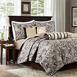 Madison Park Aubrey Quilted Coverlet Set