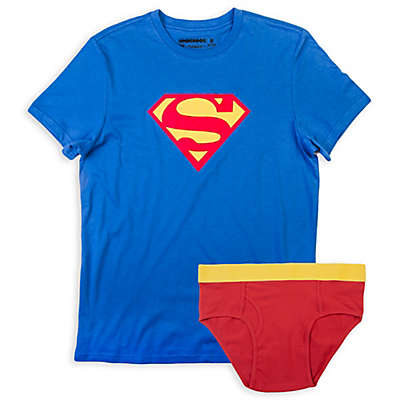 Underoos® Superman Men's Brief and T-Shirt Set