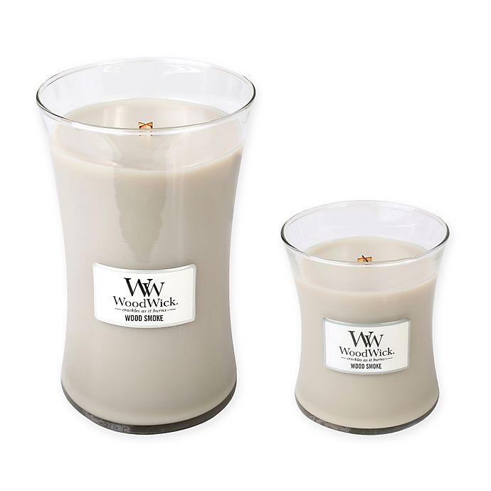 Alternate image 1 for WoodWick® Wood Smoke Jar Candles