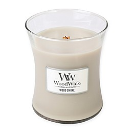 WoodWick® Wood Smoke Medium Jar Candle