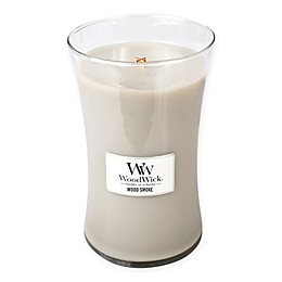 WoodWick® Wood Smoke Large Jar Candle