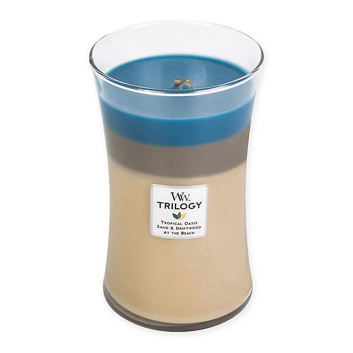 Alternate image 1 for WoodWick® Trilogy Nautical Escape 22 oz. Large Jar Candle