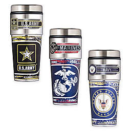 16 oz. U.S. Stainless Steel Travel Tumbler Collection