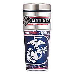 16 oz. U.S. Marines Stainless Steel Travel Tumbler