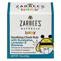 Zarbee's® 1.5 oz. Soothing Chest Rub