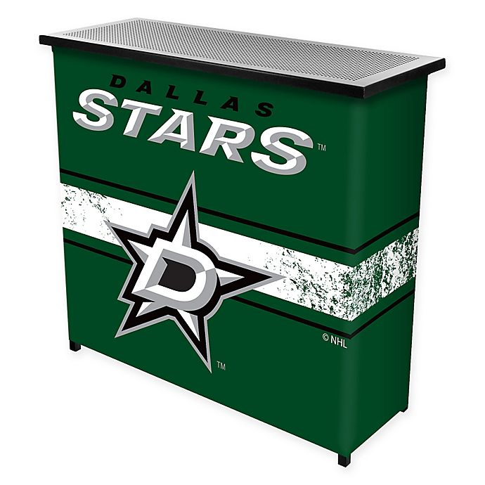 Alternate image 1 for NHL Dallas Stars Portable Bar with Case