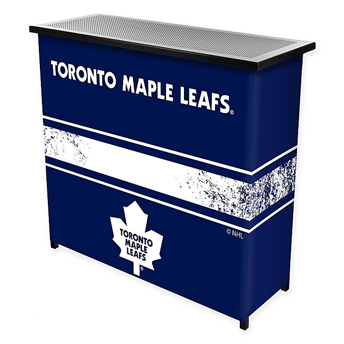 Alternate image 1 for NHL Toronto Maple Leafs Portable Bar with Case
