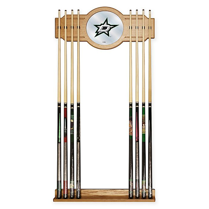 Alternate image 1 for NHL Dallas Stars Cue Rack with Mirror