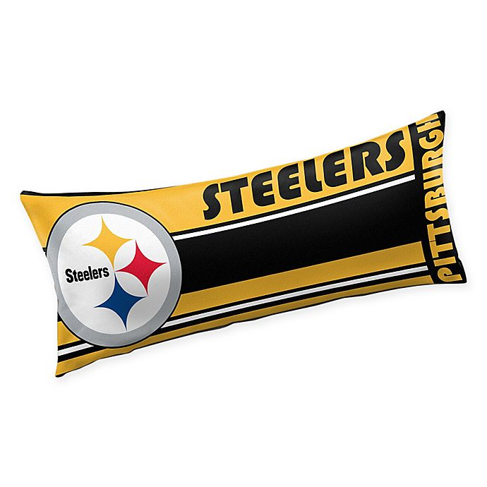 3e5715152b7 NFL Pittsburgh Steelers Body Pillow