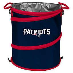 NFL New England Patriots Collapsible 3-in-1 Cooler/Hamper/Wastebasket