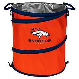 NFL Denver Broncos Collapsible 3-in-1 Cooler/Hamper/Wastebasket