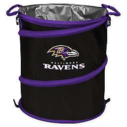 NFL Baltimore Ravens Collapsible 3-in-1 Cooler/Hamper/Wastebasket