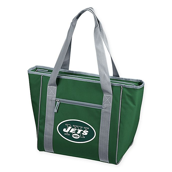 7cc6479d NFL New York Jets 30-Can Cooler Tote | Bed Bath & Beyond