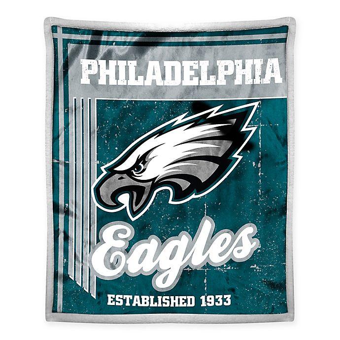 7c2c4c95eae NFL Philadelphia Eagles Mink Sherpa Throw Blanket by The Northwest ...