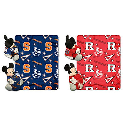 Collegiate & Mickey Hugger and Throw Blanket Set by The Northwest
