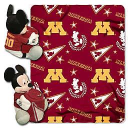 University of Minnesota & Mickey Hugger and Throw Blanket Set by The Northwest