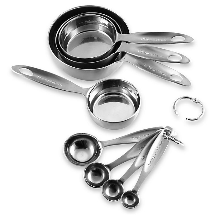 Alternate image 1 for Advanced Performance Measuring Cups and Spoons