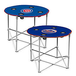 MLB Round Collapsible Table