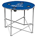 MLB Kansas City Royals Round Collapsible Table