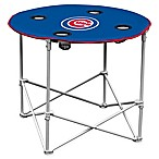 MLB Chicago Cubs Round Collapsible Table