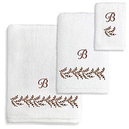 Autumn Leaves Turkish Cotton 3-Piece Towel Set