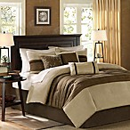 Madison Park Palmer 7-Piece Full Comforter Set in Natural