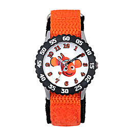 Disney® Finding Dory Children's 32mm Nemo Time Teacher Watch in Black Plastic w/Nylon Strap