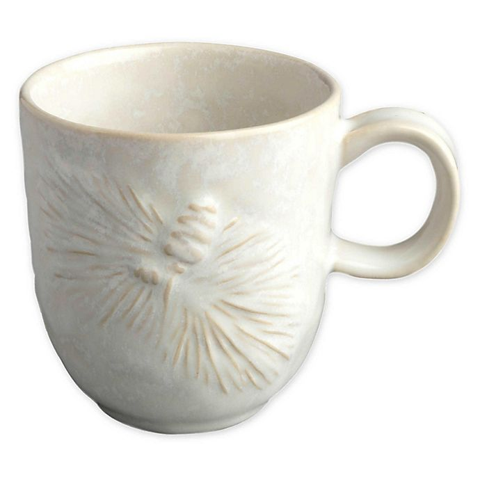 Alternate image 1 for Carmel Ceramica® Foresta Coffee Mug in White