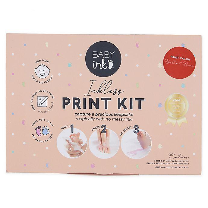 Alternate image 1 for BABYink™ Ink-Less Baby Print Kit in Bronze