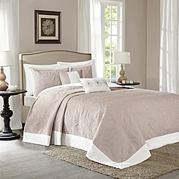 Madison Park Ashbury 5-Piece  Reversible Bedspread Set