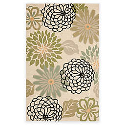 Safavieh Four Seasons Soho Floral Area Rug in Beige/Green