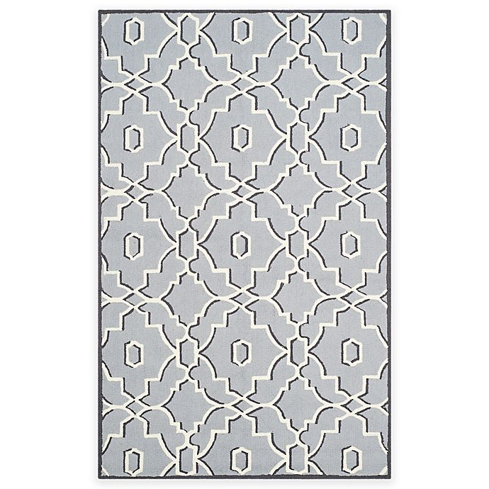 Alternate image 1 for Safavieh Four Seasons Links 3-Foot 6-Inch x 5-Foot 6-Inch Area Rug in Grey/Ivory