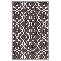 Safavieh Four Seasons Links 3-Foot 6-Inch x 5-Foot 6-Inch Area Rug in Grey/Ivory