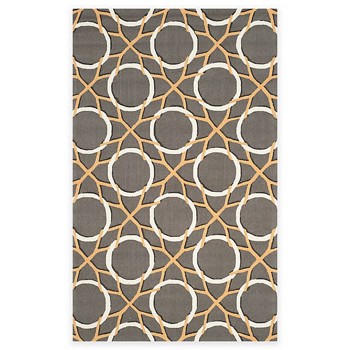 Alternate image 1 for Safavieh Four Seasons Dreamcatcher 3-Foot 6-Inch x 5-Foot 6-Inch Rug in Grey/Ivory