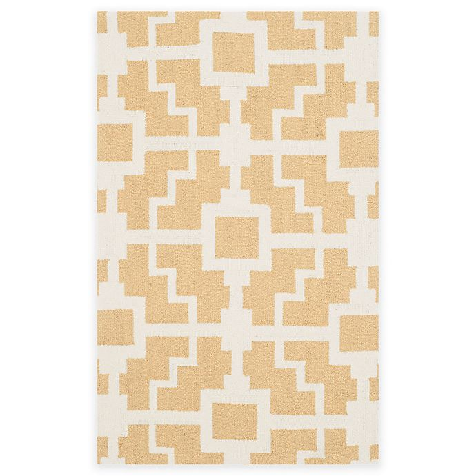 Alternate image 1 for Safavieh Four Seasons Blair 3-Foot 6-Inch x 5-Foot 6-Inch Area Rug in Gold/Ivory