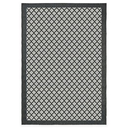 Orian Jersey Home Collection Fusion Trellis Area Rug