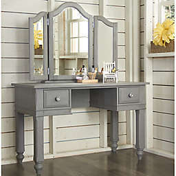 Hillsdale Kids and Teen Lake House Writing Desk and Vanity Mirror Set
