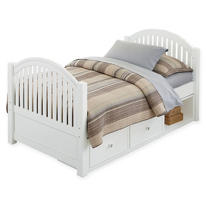 Alternate image 1 for Hillsdale Kids and Teen Lake House Adrian Twin Bed with Storage
