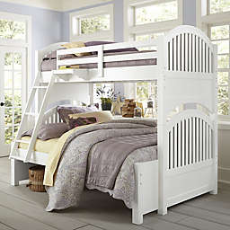 Hillsdale Kids and Teen Lake House Adrian Bunk Twin/Full Bed in White