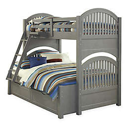 Hillsdale Kids and Teen Lake House Bunk Twin/Full Bed with Trundle