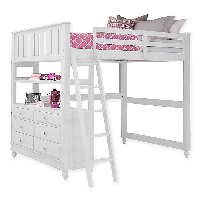 Alternate image 1 for Hillsdale Kids and Teen Lake House Loft Bed