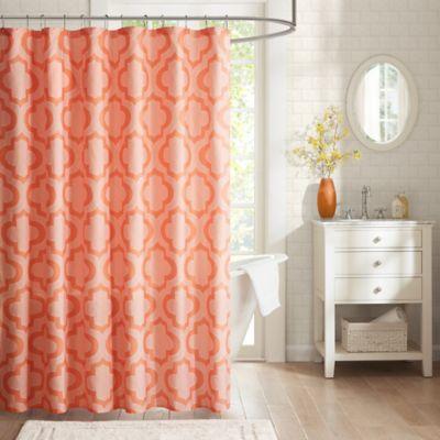 Intelligent design pilar printed shower curtain bed bath beyond - Intelligent shower ...